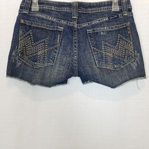 Miss Me | Distressed Shorts In Sylmar Wash 28